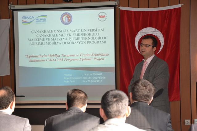 Çanakkale MYO Projesi GMKA Tarafından Kabul Edildi