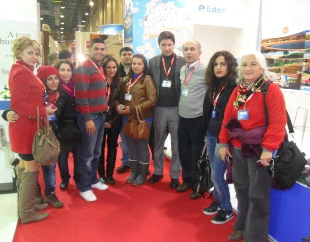 Ayvacık MYO EMITT 2012 Turizm Fuarını Ziyaret Etti