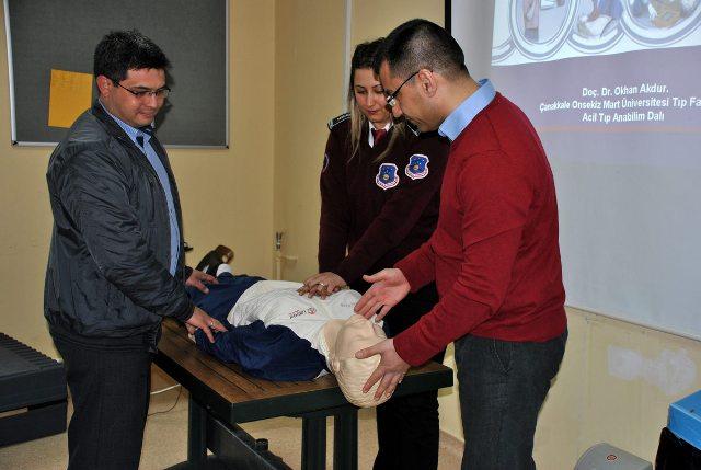 Tıp Fakültesi Hastanesi'nde Güvenlik Personeline Eğitim Verildi