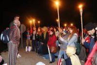 """ÇSATT """"19 Mayıs Gece Yürüyüşü """"nü Gerçekleştirdi"""