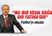 Erdoğan Fatiha'nın Türkçesini okudu İZLE