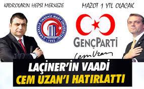 Rektör Adayı Prof. Dr. Sedat Laçiner Cem Uzan'ı Hatırlattı