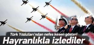 Çanakkale'de Türk Yıldızları'ndan nefes kesen gösteri