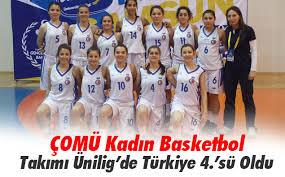 ÇOMÜ Kadın Basketbol Takımı Ünilig'de Türkiye 4.'sü Oldu