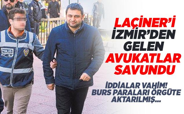 Laçiner'i İzmir'den gelen avukatlar savunmuş