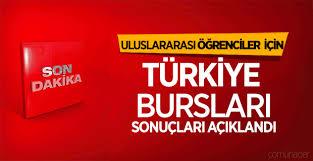 Türkiye Bursları sonuçları belli oldu