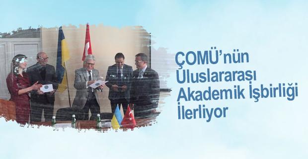 ÇOMÜ'nün Uluslararası Akademik İşbirliği İlerliyor