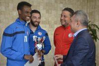 ÇOMÜ Futbol Takımı Üniversitelerarası 1.Ligde Türkiye 3.sü Oldu