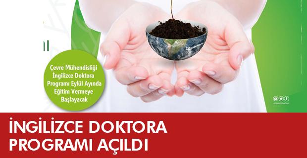 ÇOMÜ'de Bir İlk Daha: İngilizce Doktora Programı Açıldı