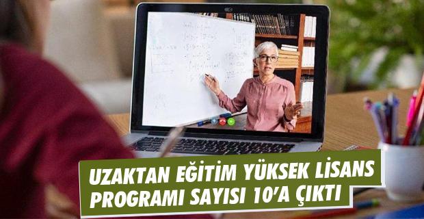 ÇOMÜ'de Uzaktan Eğitim Yüksek Lisans Programı Sayısı 10'a Çıktı