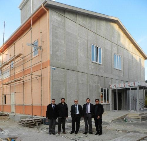 Hastane Yönetimi Ek Hizmet Binası'nda İncelemelerde Bulundu