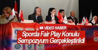 Sporda Fair Play Konulu Sempozyum Gerçekleştirildi